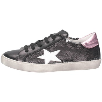 Schuhe Mädchen Sneaker Low Dianetti Made In Italy I94290D Sneaker Kind Rosa Rosa
