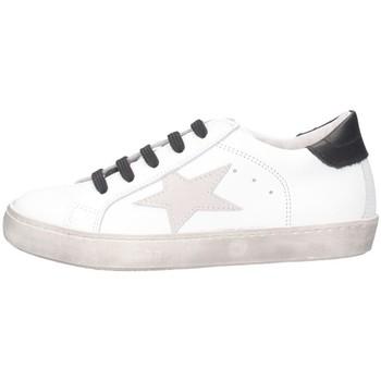 Schuhe Mädchen Sneaker Low Dianetti Made In Italy I94290D Sneaker Kind schwarz schwarz