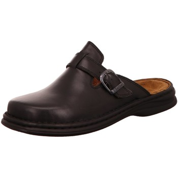 Schuhe Herren Pantoletten / Clogs Josef Seibel Offene MADRID 1012237600 schwarz