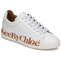 Schuhe Damen Sneaker Low See by Chloé SB33125A Weiss