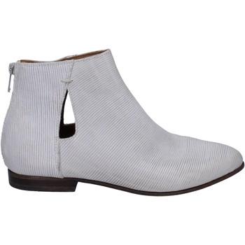 Schuhe Damen Ankle Boots Moma stiefeletten leder weiß