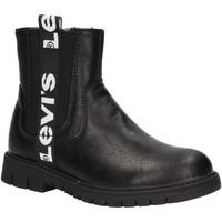 Schuhe Mädchen Low Boots Levi's VPHI0003S NASHVILLE Negro