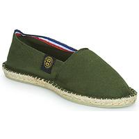 Schuhe Leinen-Pantoletten mit gefloch Art of Soule UNI Kaki