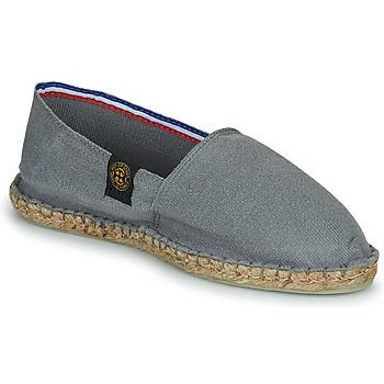 Schuhe Leinen-Pantoletten mit gefloch Art of Soule UNI Grau