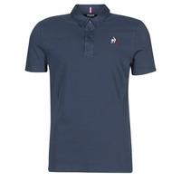 Kleidung Herren Polohemden Le Coq Sportif ESS POLO SS N°2 M Blau
