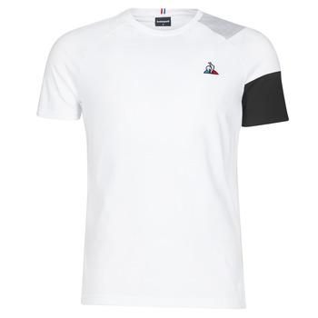Kleidung Herren T-Shirts Le Coq Sportif ESS Tee SS N°10 M Schwarz / Grau