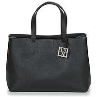 Taschen Damen Handtasche Armani Exchange MANI Schwarz