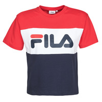 Kleidung Damen T-Shirts Fila ALLISON Marine / Rot / Weiss