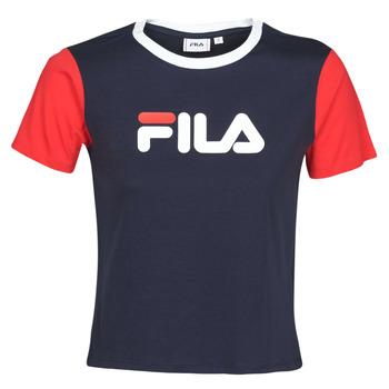 Kleidung Damen T-Shirts Fila SALOME Marine / Rot