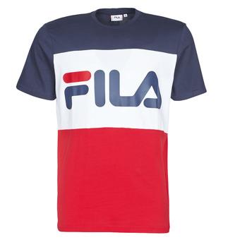Kleidung Herren T-Shirts Fila Day Marine / Rot / Weiss