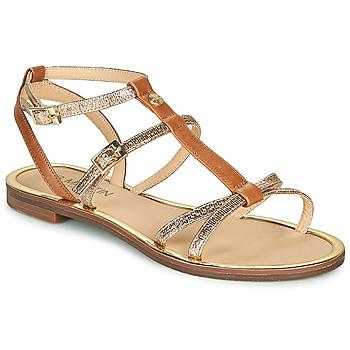 Schuhe Damen Sandalen / Sandaletten JB Martin 1GRIOTTES Braun / Gold