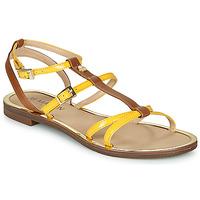 Schuhe Damen Sandalen / Sandaletten JB Martin 1GRIOTTES Gelb / Braun
