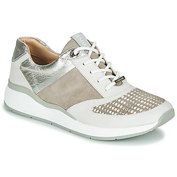 Schuhe Damen Sneaker Low JB Martin 1KALIO Beige / Weiss / Silbern
