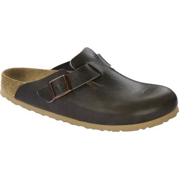 Schuhe Pantoletten / Clogs Birkenstock & Co.kg Birkenstock Clog Boston antique pull anthracite 1014504 Other