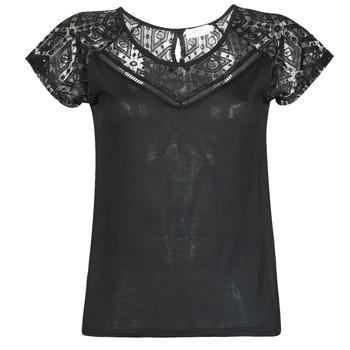 Kleidung Damen T-Shirts Deeluxe CLEA Schwarz