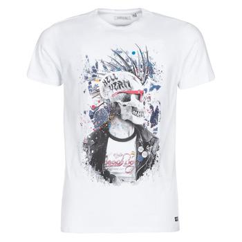 Kleidung Herren T-Shirts Deeluxe ENFIELDON Weiss