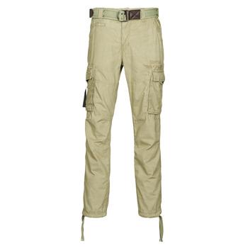 Kleidung Herren Cargo Hosen Deeluxe TROPERY Kaki