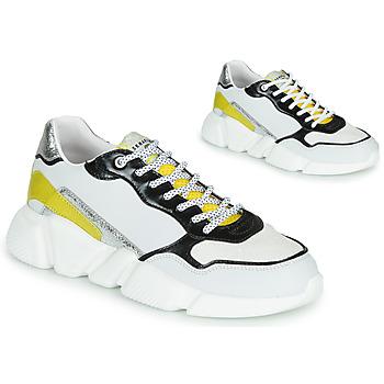 Schuhe Damen Sneaker Low Serafini OREGON Weiss / Schwarz / Gelb