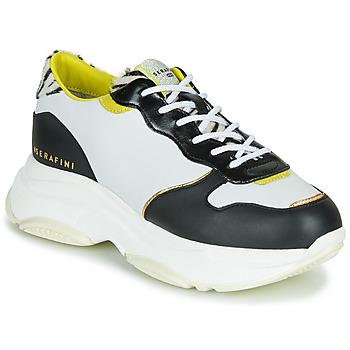 Schuhe Damen Sneaker Low Serafini BROOKLYN Weiss / Schwarz
