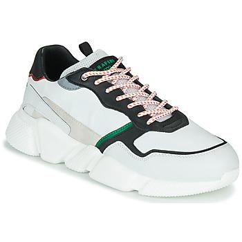 Schuhe Herren Sneaker Low Serafini OREGON Weiss / Schwarz