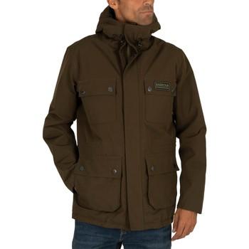 Kleidung Herren Parkas Barbour International Endo Jacke grn