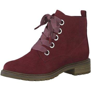 Schuhe Damen Stiefel Marco Tozzi Stiefeletten 2-2-25205-23 2-2-25205-23 rot