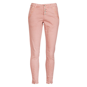Kleidung Damen Straight Leg Jeans Cream CALINA Rose