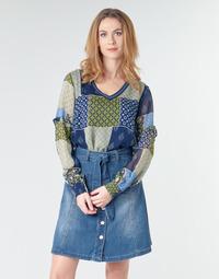 Kleidung Damen Tops / Blusen Cream CLODIE Blau
