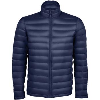 Kleidung Herren Daunenjacken Sols WILSON PADDED MEN Azul