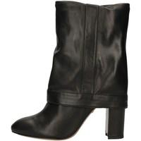 Schuhe Damen Klassische Stiefel Pura Lopez AN184 BLACK