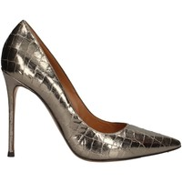 Schuhe Damen Pumps Pura Lopez AK107 SILVER