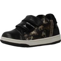 Schuhe Mädchen Sneaker Low Geox NEW FLICK GIRL Schwarz