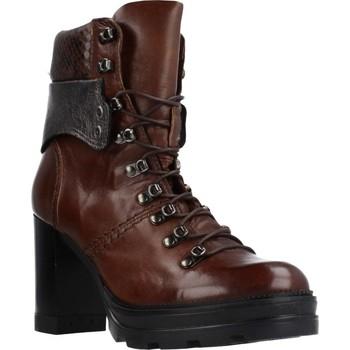 Schuhe Damen Low Boots Mjus 570207 Brown