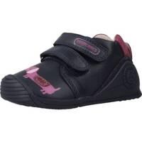 Schuhe Mädchen Sneaker Low Biomecanics 191129 Blau