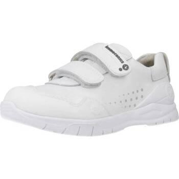 Schuhe Mädchen Sneaker Low Biomecanics 182195 Weiß