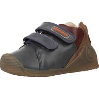 Schuhe Jungen Sneaker Low Biomecanics 191155 Blau