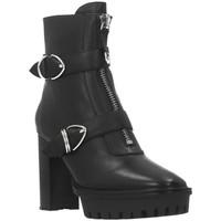 Schuhe Damen Low Boots Bruno Premi BY6002X Schwarz