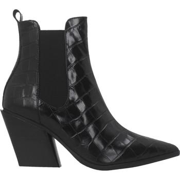Schuhe Damen Low Boots Elvio Zanon EK2604X Schwarz