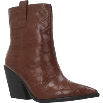 Schuhe Damen Low Boots Elvio Zanon EK2606X Brown