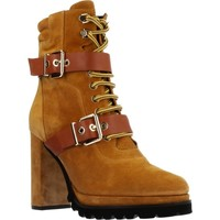 Schuhe Damen Low Boots Elvio Zanon EK3601P Brown