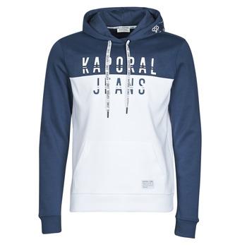 Kleidung Herren Sweatshirts Kaporal TOSCA Weiss / Blau