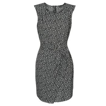 Kleidung Damen Kurze Kleider Ikks BQ30045-02 Schwarz