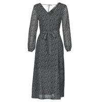 Kleidung Damen Maxikleider Ikks BQ30085-03 Schwarz