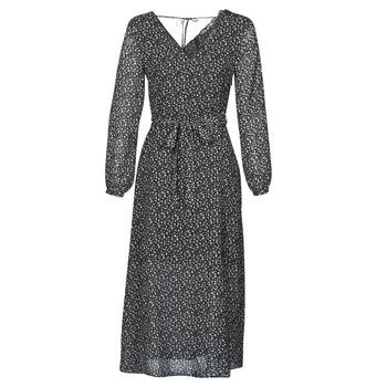 Kleidung Damen Maxikleider Ikks BQ30085-02 Schwarz