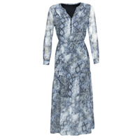 Kleidung Damen Maxikleider Ikks BQ30285-44 Blau