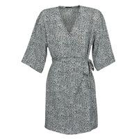 Kleidung Damen Kurze Kleider Ikks BQ30415-03 Schwarz / Weiss