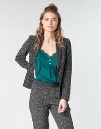 Kleidung Damen Jacken / Blazers One Step NELLY Schwarz