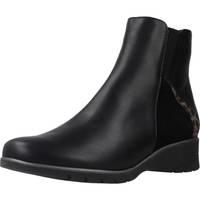 Schuhe Damen Low Boots Piesanto 195977 Schwarz