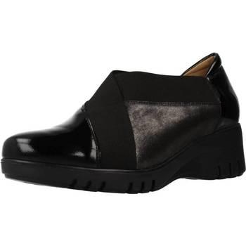 Schuhe Damen Slipper Piesanto 195931 Schwarz