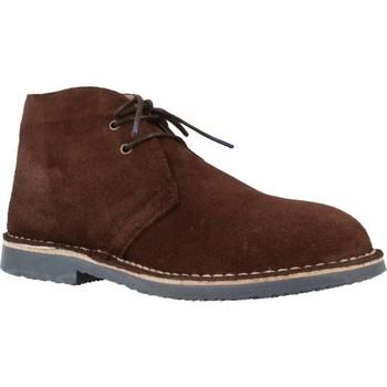 Schuhe Herren Boots Swissalpine 514M Brown
